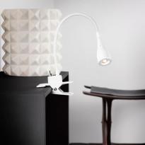 Nipistinvalaisin LED Mento, Ø35x300mm, valkoinen