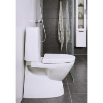 WC-istuin Noro Well No Rim, Soft Close -kannella, Verkkokaupan poistotuote