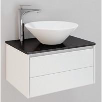 Kylpyhuonekaluste Noro Lifestyle Concept 600, malja-altaalla ja laatikostolla, matala, Verkkokaupan poistotuote