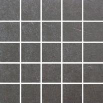 Mosaiikkilaatta LPC Stoneworld Smoke, 5x5cm, verkolla, leikattu