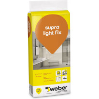 Kevytlaasti Weber Supra Light Fix, 15 kg