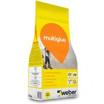 Laattojen kiinnityslaasti Weber Multiglue, 5 kg