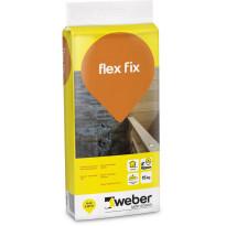Kiinnityslaasti Weber Flex Fix, superjoustava, 15kg