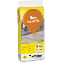 Lattialaasti Weber Flow Rapid Fix, nopea, 20kg