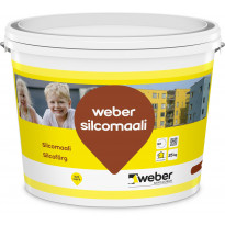 Silikonihartsimaali Weber Silcomaali, valkoinen, 25kg
