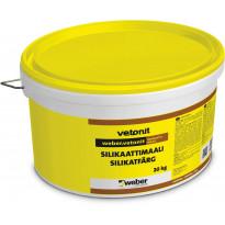 Silikaattimaali Weber, valkoinen, 20kg