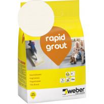 Saumalaasti Weber Rapid Grout 12 Marble, 3kg