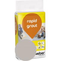 Saumalaasti Weber Rapid Grout 14 Smoke, 15kg