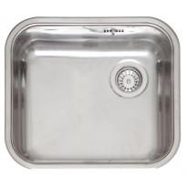 L18 4035 OKG, 1-altainen keittiöallas, 445x393mm, rst