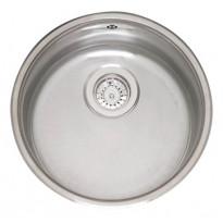 R18 370 OKG, pyöreä keittiöallas, ø 420mm, rst