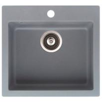 Keittiöallas Teno, 490x455, 1-altainen, harmaa