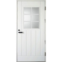 Ulko-ovi UOL1 Thermo, 9x19-20, karmi 115mm, valkoinen