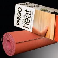 Lattialämmitysmatto Pergo Quickheat 55, 2m, Verkkokaupan poistotuote