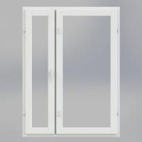 Pihla Varma 2+1 lasinen perusikkuna, B-malli, 2-osainen
