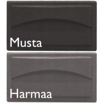 Nokiluukku HTT 406, musta tai harmaa