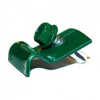 Kiinnityslangan kiinnike ja ruuvi, vihreä