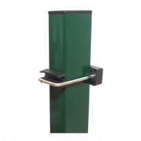 Nelikulmainen aitatolppa vihreä 40x60mm, korkeus 250cm
