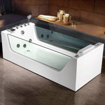 Poreamme Bathlife Flit, yhdelle, 300l, 1700x800mm