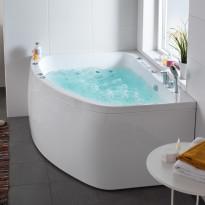 Poreallas Aqua 160R Duo Premium, 383L, 1550x1166mm, oikeakätinen