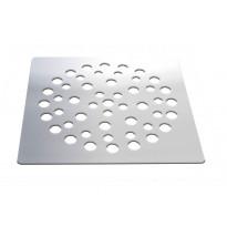 Lattiakaivon kansi vanhaan muoviseen lattiakaivoon PP-Tuote neliö, RST, 152 x 152 mm