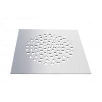 Lattiakaivon kansi vanhaan muoviseen lattiakaivoon PP-Tuote neliö, RST, 190 x 190 mm