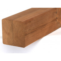 Puutolppa Lunawood Luna Post SHP, 88x88x3000mm, lapeliimattu, lämpökäsitelty, mänty