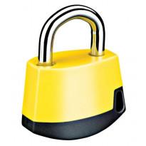 Riippulukko Abloy PL318C CLASSIC, keltainen/musta