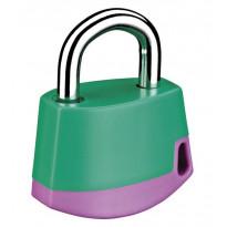 Riippulukko Abloy PL318C CLASSIC, vihreä/lila