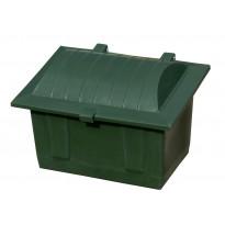 Hiekoituslaatikko Rotomon 350L täytettynä