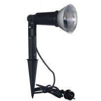 Maapiikkivalaisin Airam E27 Ø 100x515mm, musta + LED-lamppu