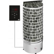 Sähkökiuas SAWO Aries Wall Ni2, 7.5kW, 7-12m³, erillinen ohjaus