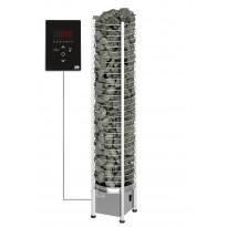 Sähkökiuas SAWO Tower Round Ni2, 9kW, 8-14m³, erillinen ohjaus