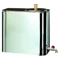 Piippusäiliö hanalla 30 litraa veden lämmitykseen