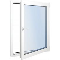 Seicom Classic DK 3K 3-lasinen kippi-ikkuna, PVC, A-malli, leveys 1000 mm