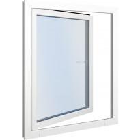 Seicom Classic DK 3K 3-lasinen kippi-ikkuna, PVC, A-malli, leveys 500 mm