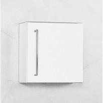 Seinäkaappi Harmony Finnmirror 40 syvä, valkoinen
