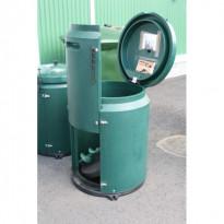 Lämpökompostori Separett, 250L, vihreä