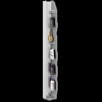 Tarvikehylly Skagen Rack, 192,5cm, sopii koko Skagen sarjaan