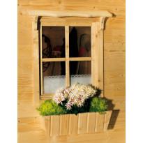 Lippalauta, kaksipuoliseen ikkunaan/oveen