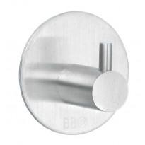 Koukku BB design 1101, tarrakiinnitteinen, harjattu