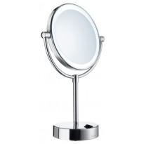 LED-meikkipeili Smedbo, vapaasti seisova, Dual light -toiminto (lämmin ja kylmä valo)