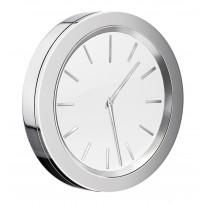 Kylpyhuoneen kello Time, valkoinen taustalevy