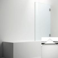 Ammeseinä ARC malli 17, opaali frost lasi, kiiltävä kromi