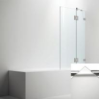 Ammeseinä ARC malli 24, opaali frost lasi, kiiltävä kromi
