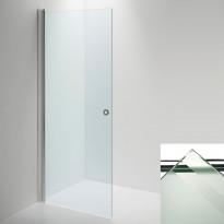 Suihkuseinä INR LINC Angel ovi, raita/valkoinen, eri kokoja