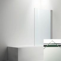 Ammeseinä LINC  malli 17, kirkaslasi/valkoinen, 200-900mm