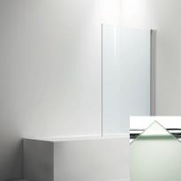 Ammeseinä LINC  malli 17, frost lasi/valkoinen, 200-900mm