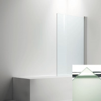 Ammeseinä LINC  malli 17, frost lasi/kiiltävä, 200-900mm