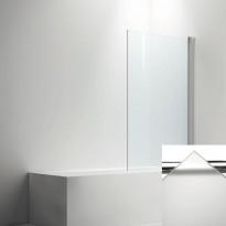 Ammeseinä LINC  malli 17, opaali frost lasi/valkoinen, 200-900mm