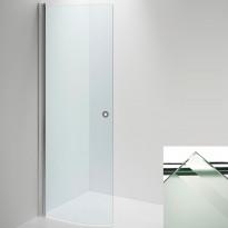 Suihkuseinä INR LINC Niagara ovi, raita/valkoinen, eri kokoja